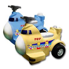 【MIT台灣童車】飛機造型電動遙控車