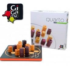 【 法國桌神 Gigamic 益智遊戲 】Quarto Mini 四連戰 迷你版