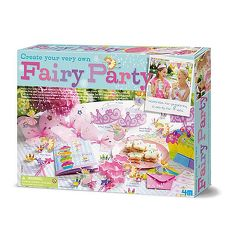 【4M 創意 DIY】花精靈歡樂派對Create Your Own Fairy Party 00-04401