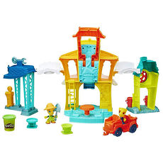 【培樂多黏土 Play-Doh】城市系列-3合1城市遊戲組