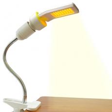 Ddiosas 3D平板LED驅蚊燈燈泡夾燈組(燈泡x1+夾燈座x1)