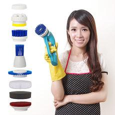 YOTO 悠樂攜帶式一機多用防水清潔機/打蠟機/去角質按摩機(ZY1392)
