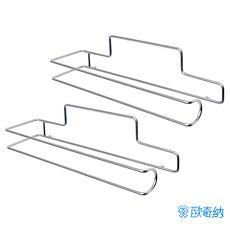 歐奇納 OHKINA隨手貼系列_多功能捲筒餐巾紙置物架x2專屬配件不含重複貼掛勾
