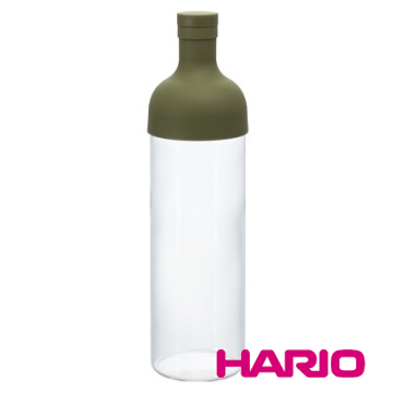 【HARIO】酒瓶綠色冷泡茶壺750ml / FIB-75-OG