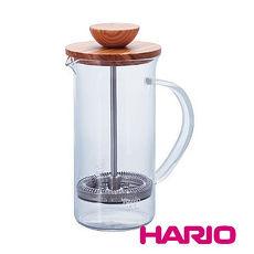 【HARIO】自然風濾壓茶壺300 THW-2-OV