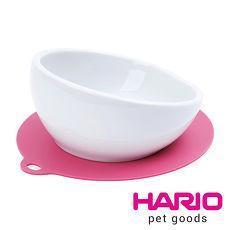 【HARIO】小型犬專用櫻桃粉紅磁碗  PTS-CB-PC