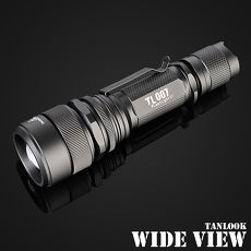 【WIDE VIEW】高亮度U2 LED遠射變焦手電筒(TL-S7)