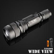 【WIDE VIEW】高亮度U2 LED遠射變焦手電筒組(TL-S7-A)