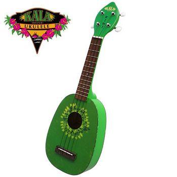 買一送一【KALA】美國烏克麗麗大廠『21吋』奇異果造型烏克麗麗(KIWI)『加送調音器』