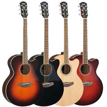 【YAMAHA】山葉 木吉他 民謠吉他 電木吉他(CPX500II)