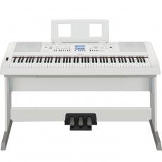 【YAMAHA山葉】DGX-650 88鍵數位鋼琴 / 含多項贈品 / 白色 公司貨保固