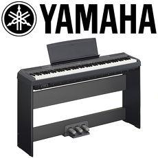 ★YAMAHA 山葉★ P-115 簡單時尚標準88鍵多功能數位鋼琴 / 贈多項好禮 / 黑色 公司貨保固