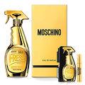Moschino Gold Fresh Couture 亮晶晶女性淡香精 50ml+ 同款針管