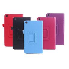 ASUS ZenPad C Z170C 7吋 專用荔枝紋可立皮套黑色