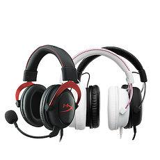 KingSton 金士頓 HyperX CLOUD II 電競耳機 (金屬灰/靚酷紅)