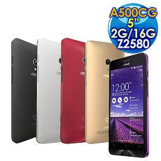 【促銷】ASUS 華碩 ZenFone 5 A500CG 16GB 3G版 5吋手機/雙卡雙待 (5色)