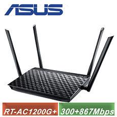 【ASUS 华硕】RT-AC1200G PLUS 无线双频分享器