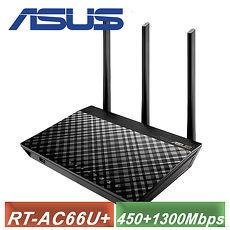 【ASUS 华硕】RT-AC66U Plus 无线路由器 ( RT-AC66U+ )