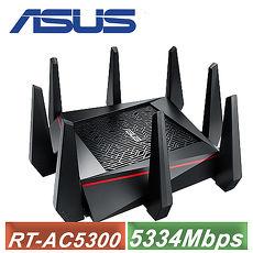 【ASUS 华硕】RT-AC5300 三频 Gigabit 无线分享器