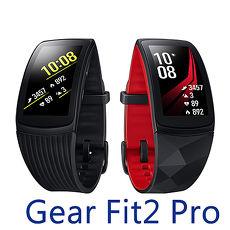 Samsung 三星 Gear Fit2 Pro (SM-R365I) 智慧手環黑色 短版18.3cm