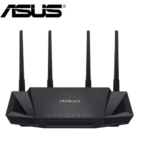 【ASUS 華碩】 RT-AX3000 雙頻Wi-Fi路由器(分享器)