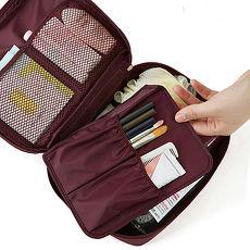 多隔層防潑水 盥洗包 化妝包 收納包 旅行包 隨身包 洗漱包 旅遊首選 旅行用品