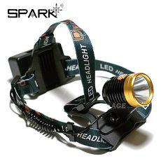 SPARK 觸控式開關38W亮度LED頭燈_HL-099