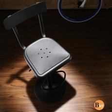 《BuyJM》LOFT復古工業風昇降吧檯椅/洽談椅