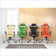 《BuyJM》特賣↘亞力士造型皮面升降扶手鋁合金腳辦公椅(4色)