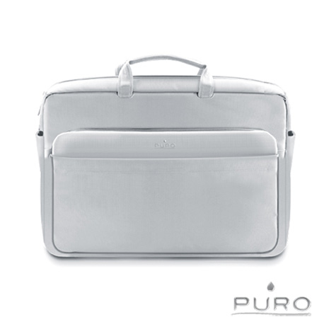 【PURO】17吋Apple MacBook Air/Pro 典雅風格電腦保護包-灰