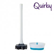 巧趣Quirky 多角度馬桶刷 BRIM (2入組)