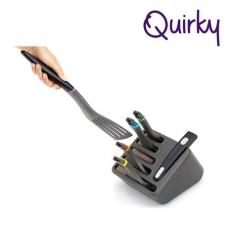 巧趣Quirky 五件鍋鏟組Click N Cook-特賣