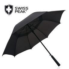 Swiss Peak Tornado 23吋双层防风直立伞