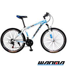 【WANMA】WM-1 26吋 日本SHIMANO 21速 登山車-服務升級版黑棕