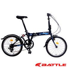 【BATTLE】HAN 歡騰 20吋 日本Shimano 7速 鋁合金折疊車