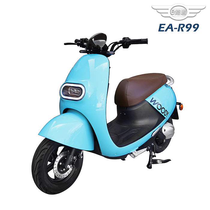 (客約)【e路通】EA-R99追風48V鉛酸800W碟煞前後避震電動車(電動自行車)藍黑