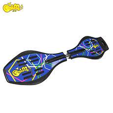 【鑫瑪SHINMA】蛇板(Snake Board)-ABS基礎板-藍