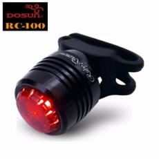 DOSUN DC-100 USB充電式紅寶石紅光警示燈-純亮黑