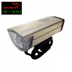 DOSUN SF-300 高亮度自行車前燈 風潮鈦