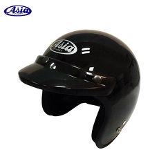 ASIA A706 精裝素色細條安全帽 亮黑