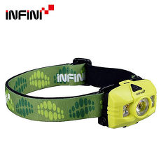 INFINI HAWK 5LED戶外登山頭燈 J-100 綠