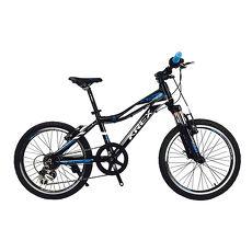 KREX ACTIVE V20-7速兒童車黑/藍
