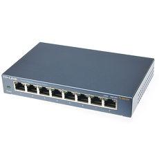 TP-LINK TL-SG108 8-Port Gigabit 商用 非管理型 交換器