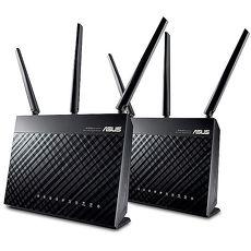 ASUS 華碩《AiMesh AC1900》雙頻 Gigabit 無線路由器 (RT-AC68U 2台包裝)