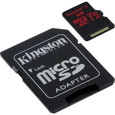 Kingston 金士頓 SDCR/128GB Canvas React microSDXC 高速記憶卡