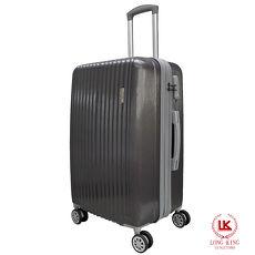 【LONG KING】28吋ABS歐風時尚行李箱(LK-8011/28-深灰)