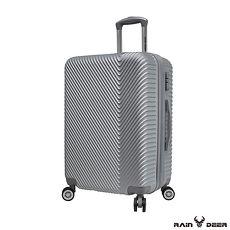 【RAIN DEER】幸運女神24吋ABS防刮電子紋行李箱-顏色任選