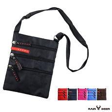 【RAIN DEER】簡約時尚旅遊單肩包-隨機出貨
