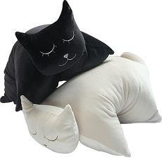 【MYHOUSE】CAT造型貓咪抱枕 2入_3色可選