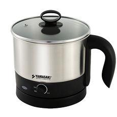 (特賣) [YAMASAKI山崎家電] 好便利不鏽鋼多功能美食鍋 SK-109S
